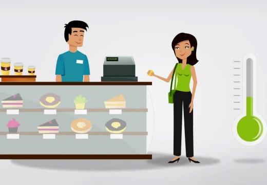 FundScrip est utilisé par une cliente