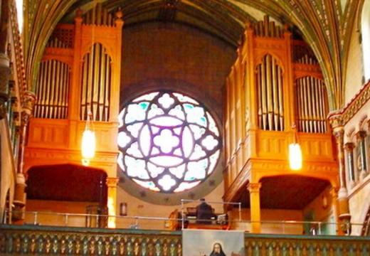Orgue de la Cocathédrale utilisé par la chorale, organ, órgano