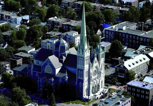 vue de la cocathédrale, Assemblée de fabrique, Co-Cathedral, Co-catedral
