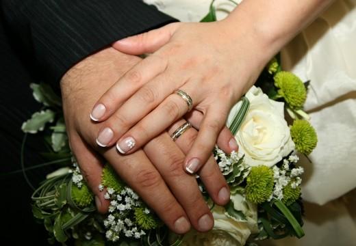 Alliances pour mariage