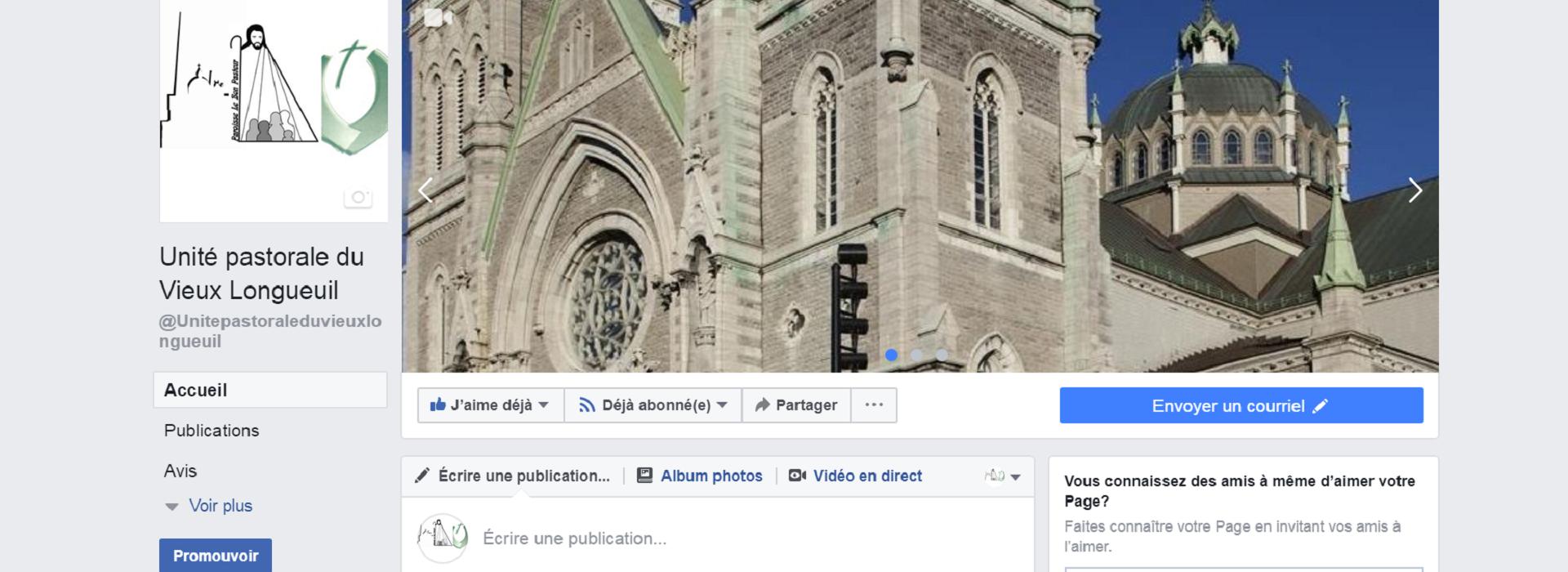 ouverture du site Facebook