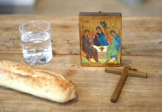 pain croix cadre eau